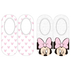 Minnie Mouse boat socks