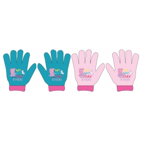 Peppa Pig girls gloves