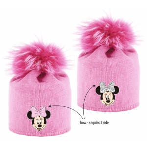 Minnie Mouse girls winter hat
