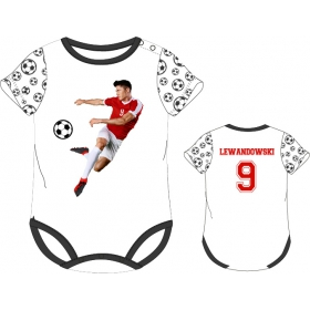 Robert Lewandowski baby bodysuit - sale!