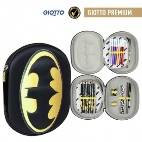 Batman Giotto Filled Triple Pencil Case 3 Compartment