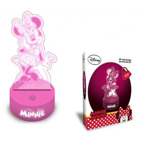 Minnie Mouse 3D lamp