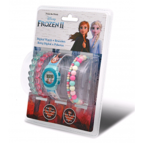 Frozen digital watch +  bracelets