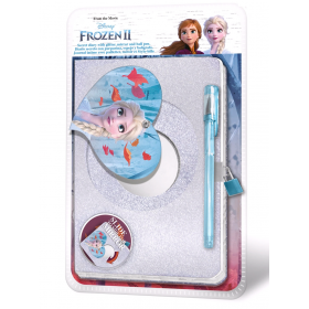Diary with mirror Frozen