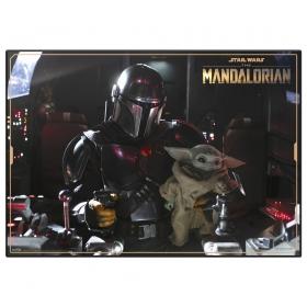 Star Wars the Mandalorian desktop mat