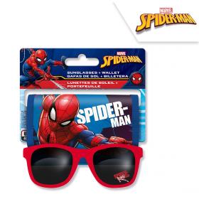 Spiderman sunglasses + wallet