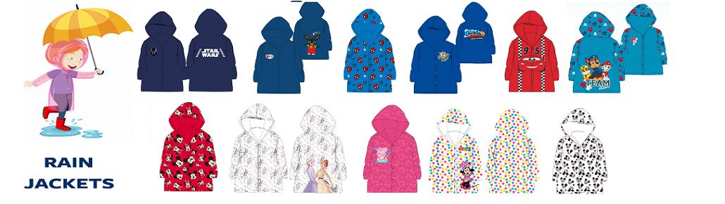 raincoats for kids wholesaler